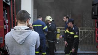 Φωτιά σε ψητοπωλείο στο κέντρο της Αθήνας