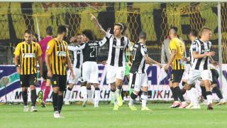 Με νίκη του ΠΑΟΚ έληξε το ντέρμπι της Θεσσαλονίκης