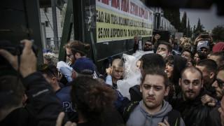 Εισβολή μαθητών και φοιτητών στο υπουργείο Παιδείας