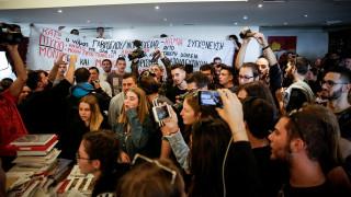 Νέες κινητοποιήσεις σχεδιάζουν φοιτητές και μαθητές μετά την εισβολή στο υπουργείο Παιδείας