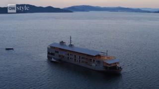 Το ξεχωριστό πλωτό ξενοδοχείο της Ιαπωνίας