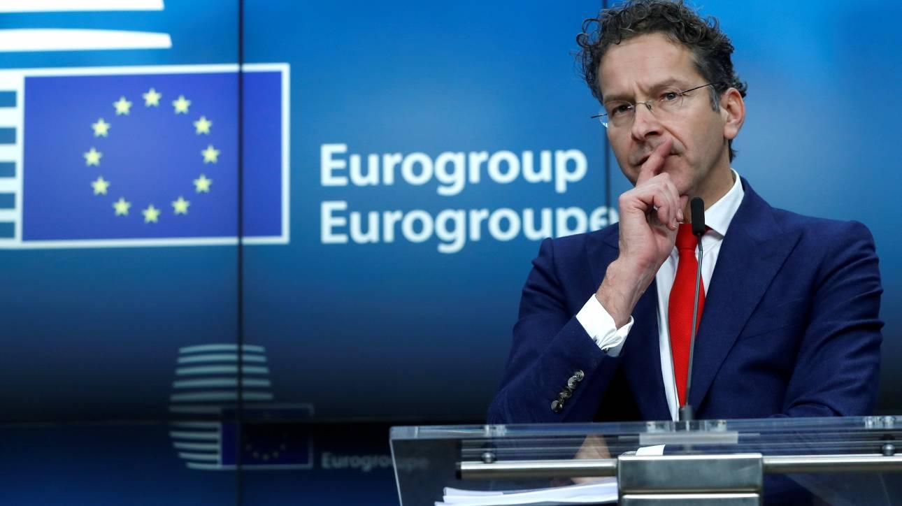 Ντάισελμπλουμ: Η Ελλάδα δεν είναι σε θέση να προχωρήσει σε αύξηση μισθών