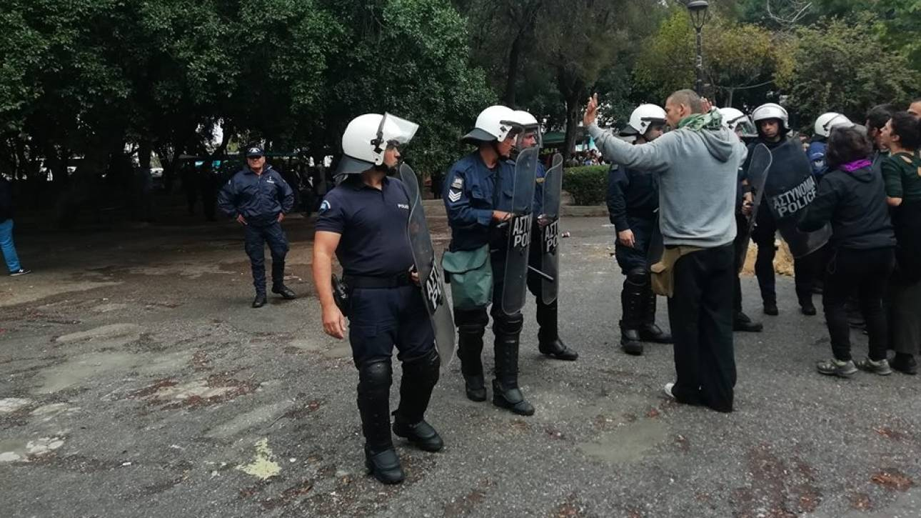 Κρήτη: Ένταση μεταξύ πολιτών και ΜΑΤ στο πάρκο Γεωργιάδη