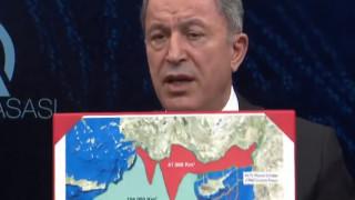 Επεκτείνει και νότια της Κρήτης τις «διεκδικήσεις» της η Άγκυρα