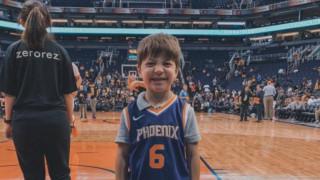 Ο «λυπημένος» Τέντι γιόρτασε τα γενέθλιά του με τους Phoenix Suns