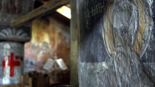 Βεβήλωσαν εκκλησία στην Εύβοια: Έγραψαν τη λέξη «Εωσφόρος» στο Ευαγγέλιο