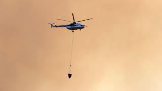 Η καταστροφή από ψηλά: Δορυφορικές εικόνες από τη φωτιά στη Σιθωνία