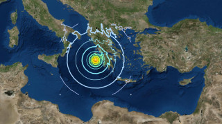 Σεισμός Ζάκυνθος: Αισθητός σε όλη τη νότια Ιταλία