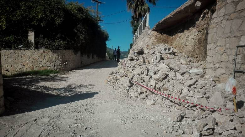Σεισμός Ζάκυνθος: Θλίψη για την κατάρρευση του μοναστηριού του Αγίου Διονυσίου στις Στροφάδες