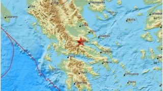 Ισχυρός σεισμός στη Λαμία