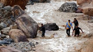 Ιορδανία: Τουλάχιστον 20 νεκροί από πλημμύρες - Ανάμεσά τους και παιδιά