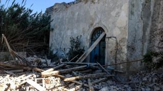 Ζάκυνθος: Ο σεισμός «πλήγωσε» το Καστρομονάστηρο των Στροφάδων