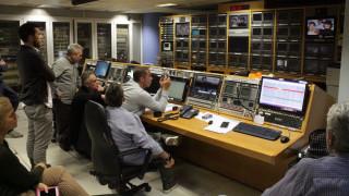 Η συγκίνηση των εργαζομένων του Mega τη στιγμή του «μαύρου» στο κανάλι
