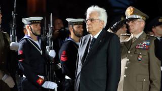 28η Οκτωβρίου: Στεφάνι στο Μνημείο Ελληνοϊταλικής Φιλίας κατέθεσε ο Ματαρέλα