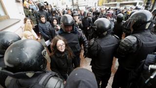 Δεκάδες συλλήψεις διαδηλωτών στη Ρωσία