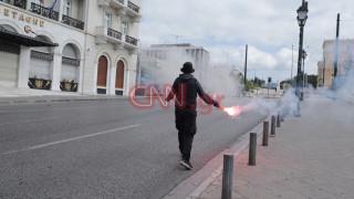 Επεισόδια στη μαθητική πορεία στο κέντρο της Αθήνας