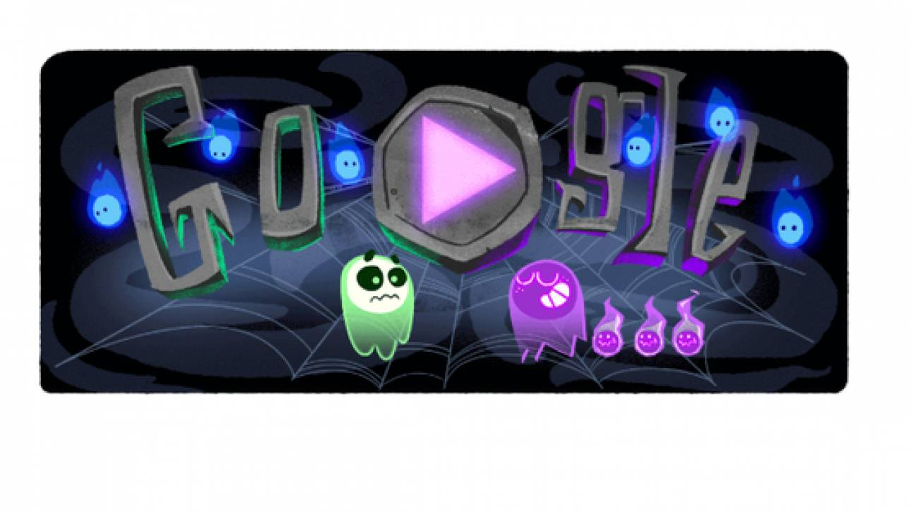 Το Doodle της Google για το Halloween
