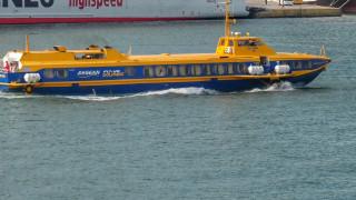 Περιπέτεια εν πλω για 64 επιβάτες του «Flying Dolphin 18» λόγω μηχανικής βλάβης