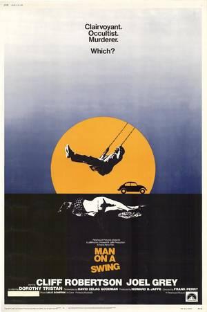 Man on a Swing/ Το έργο βασίστηκε σε αληθινή ιστορία και ξετυλίγει ένα μίτο μυστηρίου. Ο υποτιθέμενα προικισμένος με διαμεσική ικανότητα (στα ελληνικά το λέμε και μέντιουμ) Φράνκλιν Γουίλς θέλει να βοηθήσει την αστυνομία στη διαλεύκανση ενός φόνου. Ξέρει