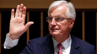 Μπαρνιέ για Brexit: Καμία συμφωνία για τις χρηματοπιστωτικές υπηρεσίες