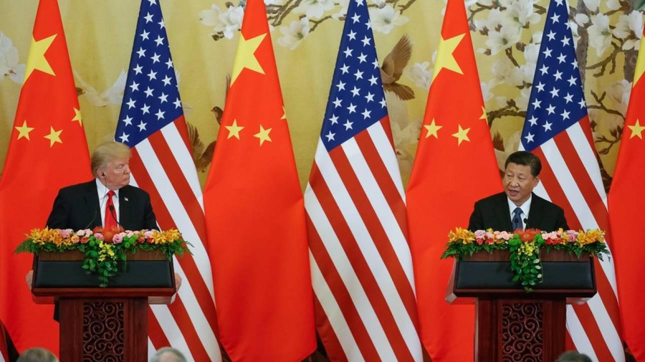 Επικοινωνία Τραμπ - Σι για το εμπόριο και τη Β. Κορέα