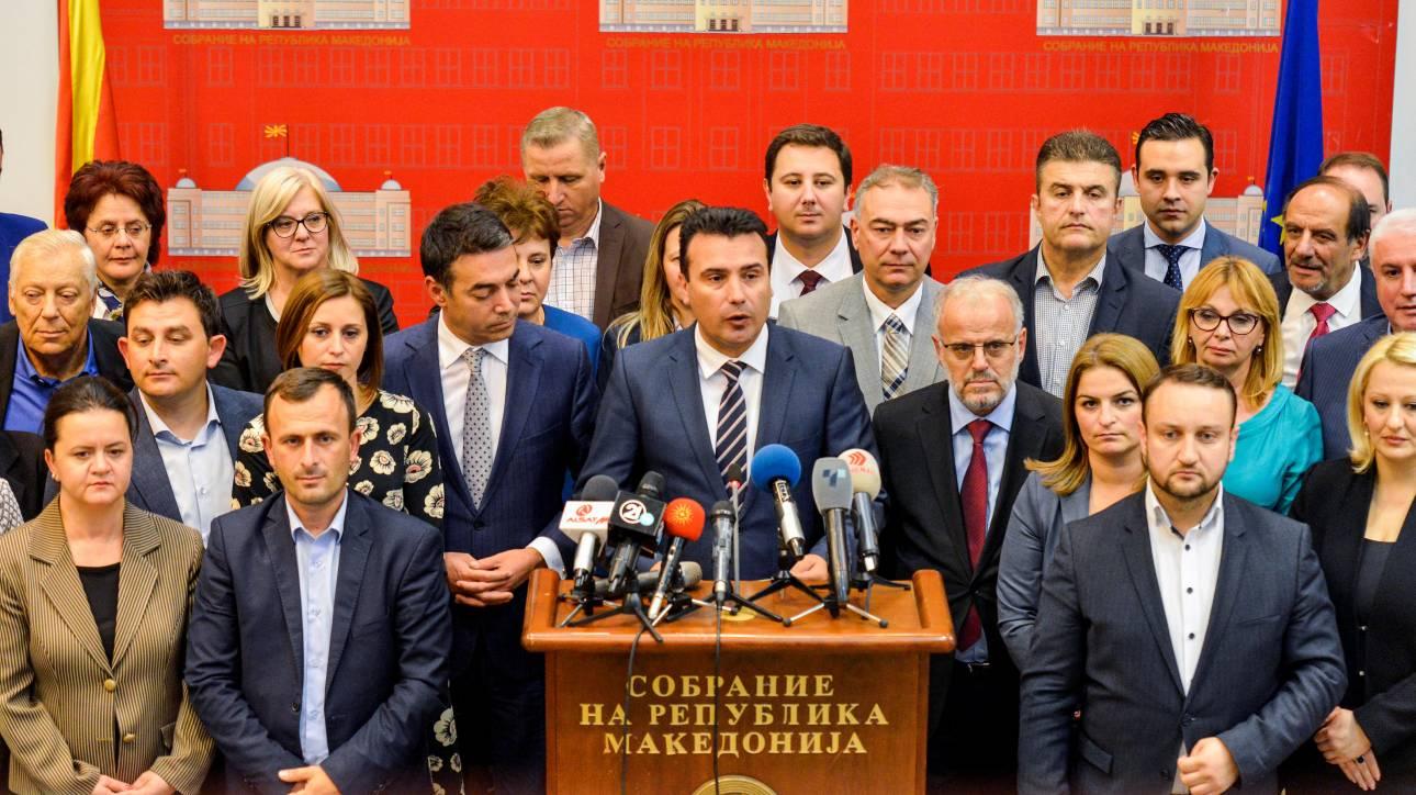 Συμφωνία Ζάεφ με τους «8» για τις συνταγματικές αλλαγές