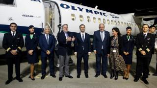 Επαναλειτούργησε η αεροπορική σύνδεση Αθήνας-Σκοπίων