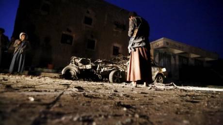 Υεμένη: Η στρατιωτική συμμαχία της Σαουδικής Αραβίας εκτόξευσε πυραύλους στη Σαναά
