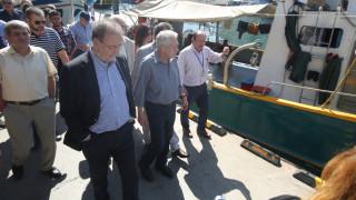 Σεισμός Ζάκυνθος: Επίσκεψη «αυτοψίας» από το Φώτη Κουβέλη στο νησί