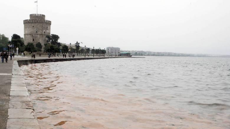 Θερμαϊκός: Έκτακτοι καθαρισμοί λόγω «ερυθράς παλίρροιας»