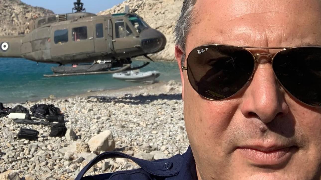 Κόντρα ΝΔ - ΑΝ.ΕΛ. για το «στρατιωτικό ελικόπτερο του Καμμένου»