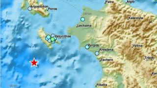 Νέες σεισμικές δονήσεις κοντά στη Ζάκυνθο