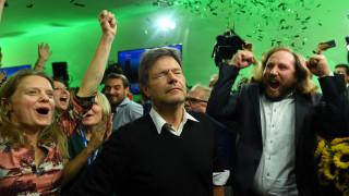 Γερμανία: Δεύτερο κόμμα οι Πράσινοι, μια «ανάσα» πίσω από τη Χριστιανική Ένωση