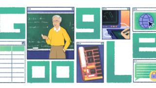 Μιχάλης Δερτούζος: Αφιερωμένο στον Έλληνα οραματιστή του Διαδικτύου το Google Doodle
