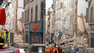 Κατάρρευση κτηρίου στη Μασσαλία
