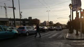 Καθαρίστηκε ο δρόμος από τα λάδια στο ύψος του Καλλιμάρμαρου
