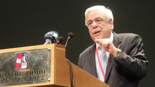 Παυλόπουλος: Kίνδυνος για τη Δημοκρατία η επικυριαρχία του «οικονομικού» επί του «θεσμικού»