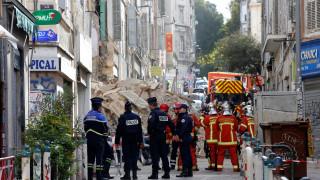 Γαλλία: Επτά αγνοούμενοι από την κατάρρευση των δύο κτηρίων στη Μασσαλία