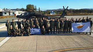 Εντυπωσιακές εικόνες από την άσκηση στρατιωτικής συνεκπαίδευσης Ελλάδας - Κύπρου - Ισραήλ