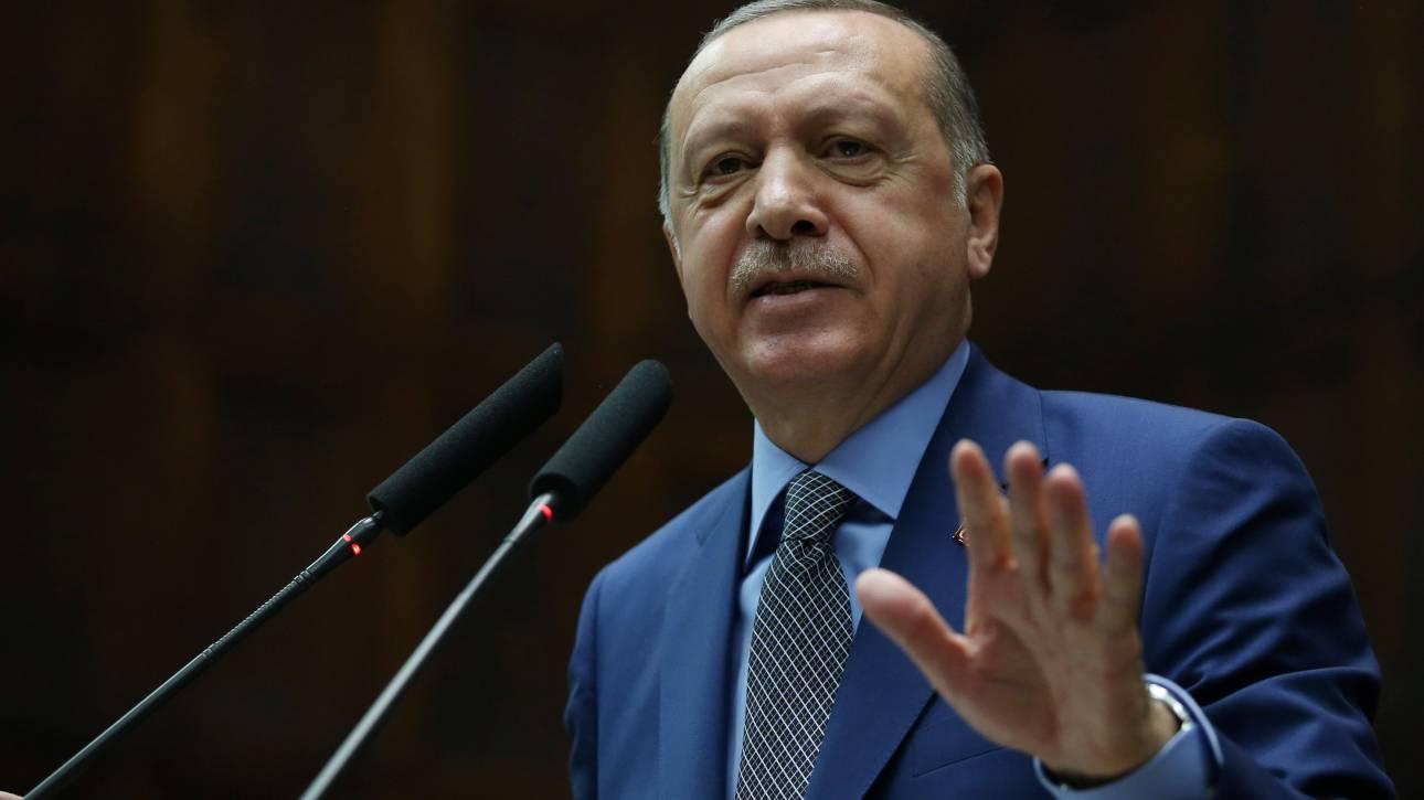 Ερντογάν: Δεν θα συμμορφωθούμε με τις κυρώσεις των ΗΠΑ εναντίον του Ιράν