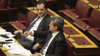 Αντιπαράθεση για τις δηλώσεις Γεωργιάδη - Λοβέρδου στην εξεταστική επιτροπή