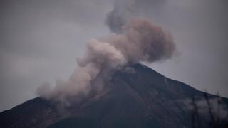 Ενεργοποιήθηκε ξανά το «φονικό» ηφαίστειο Φουέγο της Γουατεμάλας