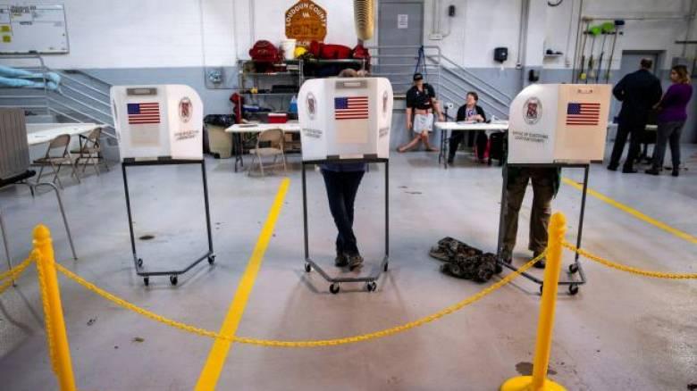 ΗΠΑ - Ενδιάμεσες εκλογές: Κλείνουν οι κάλπες στις περισσότερες Πολιτείες