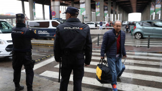 Εκκένωση σιδηροδρομικού σταθμού στη Μαδρίτη
