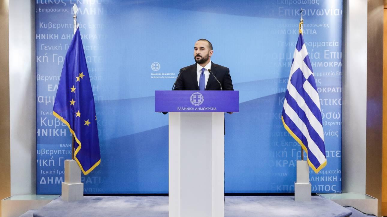 Τζανακόπουλος: Τσίπρας και Ιερώνυμος επιχειρούν να λύσουν ιστορικές εκκρεμότητες
