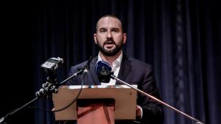 Τζανακόπουλος: Η Αριστερά οφείλει να θέσει προς διάλογο τις μεγάλες τομές που έχει ανάγκη η χώρα