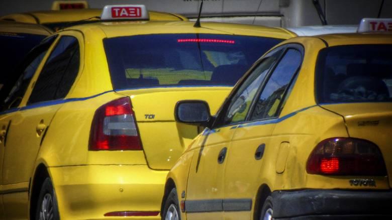 Στάση εργασίας στα ταξί σήμερα