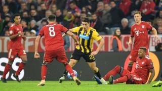 Champions League: Άντεξε ένα ημίχρονο, αλλά «παραδόθηκε» η ΑΕΚ