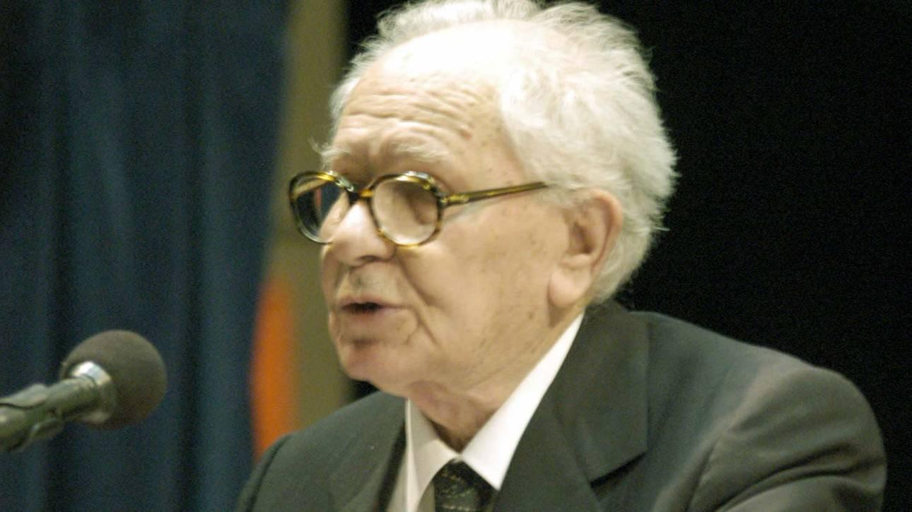 Πέθανε ο βετεράνος δημοσιογράφος και αγωνιστής της Εθνικής Αντίστασης Λάζαρος Αρσενίου