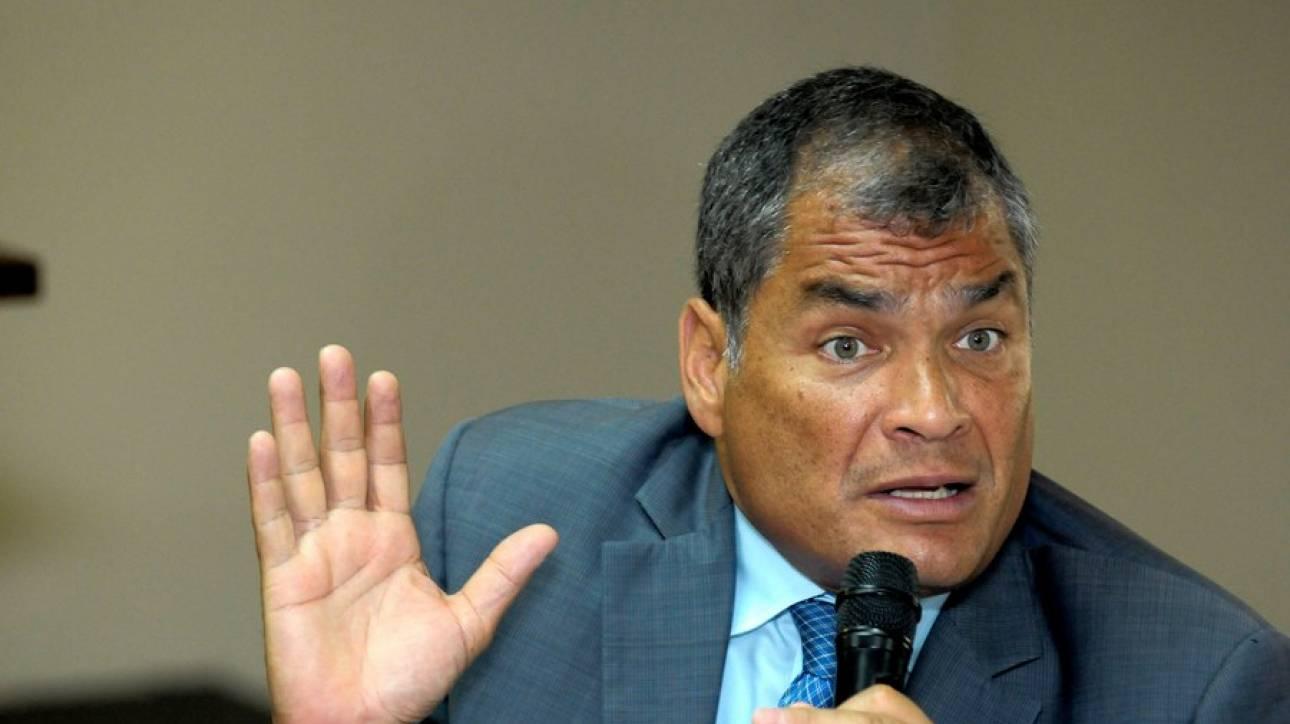 Άσυλο από το Βέλγιο ζητά ο πρώην πρόεδρος του Ισημερινού